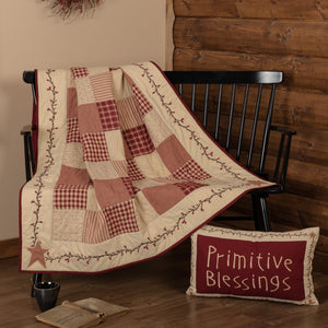 Cheston Star and Pip Quilted Throw