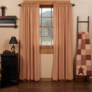 Cheston Scalloped Lined Panel Curtains 84""