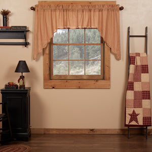 Cheston Scalloped Lined Swag Curtains