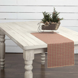 Jonathan Plaid Ribbed Runner 13x36""