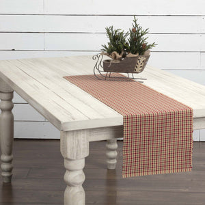 Jonathan Plaid Ribbed Runner 13x48""