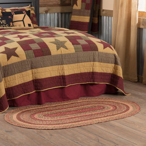 "Cider Mill Braided Oval Rug 36x60"" - with Pad"