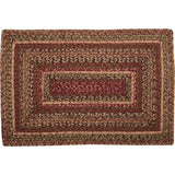 "Cider Mill Braided Rectangle Rug 20x30"" - Primitive Star Quilt Shop"