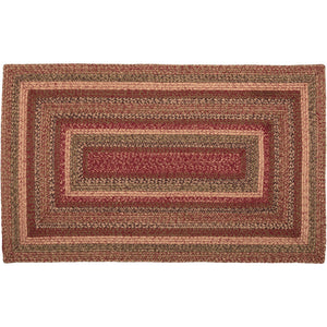 Cider Mill Braided Rectangle Rug 36x60""