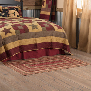 "Cider Mill Braided Rectangle Rug 36x60"" - with Pad"