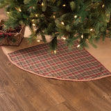 "Clement Tree Skirt 48"" - Primitive Star Quilt Shop"