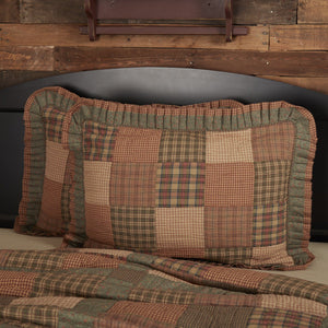 Crosswoods Quilted Standard Sham 21x27""