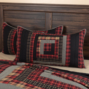 Cumberland Quilted King Sham 21x37""