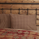 Dawson Star Standard Pillow Case - Set of 2 - Primitive Star Quilt Shop