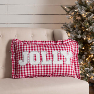 "Emmie Jolly Pillow 14x22"" Filled"