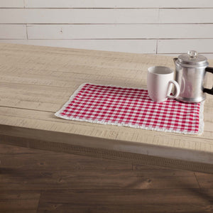 Emmie Red Placemat - Set of 6