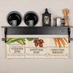 Farmer's Market Fresh Vegetables Tea Towel - Set of 3