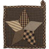 Farmhouse Star Pot Holder - Primitive Star Quilt Shop