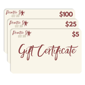 Gift Cards - From $5 to $100