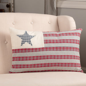 Hatteras Flag Pillow 14x22""