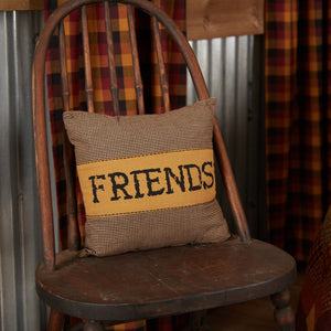 Heritage Farms Friends Pillow 12x12""