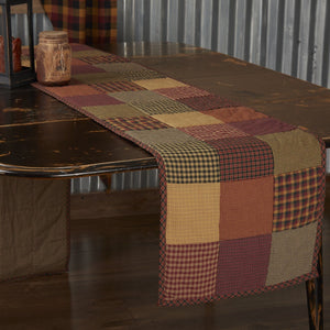 Heritage Farms Quilted Runner 13x90""