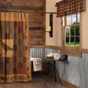Primitive Shower Curtains At Primitive Star Quilt Shop