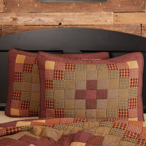 Heritage Farms Quilted Standard Sham 21x27""