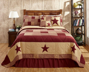 Jamestown Burgundy Quilt Bundle