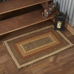 Kettle Grove Rectangle Braided Rug 24x36""