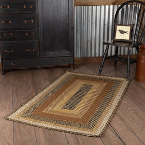 Kettle Grove Rectangle Braided Rug 36x60""