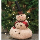 Mr. Top Hat Snowman - Primitive Star Quilt Shop