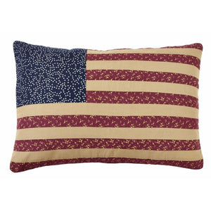 "Old Glory Flag Pillow 13x19"" Filled"