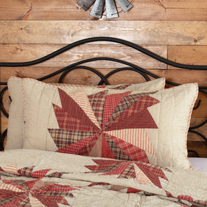 Ozark Quilted King Sham 21x37""