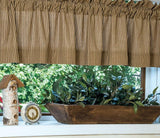 "Primitive Star Lined Valance 72"" - Primitive Star Quilt Shop"