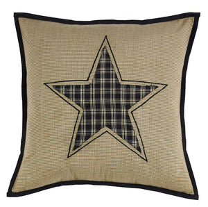 Revere Fabric Star Pillow 16""