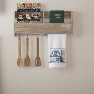 Sawyer Mill Blue Barn Tea Towel