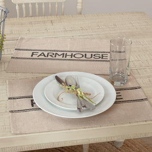 Sawyer Mill Charcoal Farmhouse Placemat - Set of 6