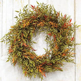 "Shade Smilax Wreath 20"" - Primitive Star Quilt Shop"