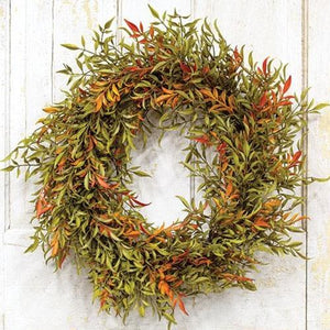 Shade Smilax Wreath 20""