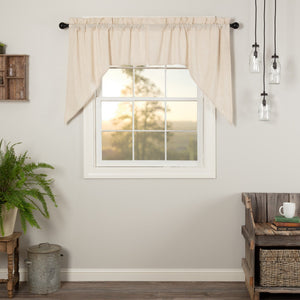 Simple Life Flax Natural Swag Curtains