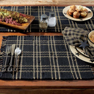 Sturbridge Black Chindi Placemat - Set of 4