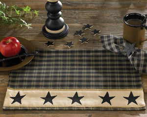 Sturbridge Black Star Placemat - Set of 4