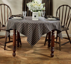 Sturbridge Black Table Cloth 54x54""