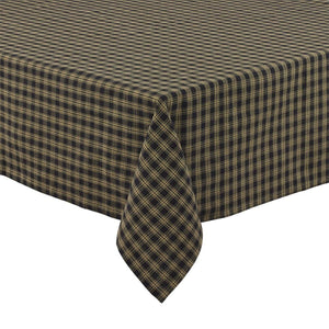 Sturbridge Black Table Cloth 60x84""