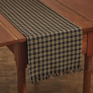 Sturbridge Black Table Runner 36""