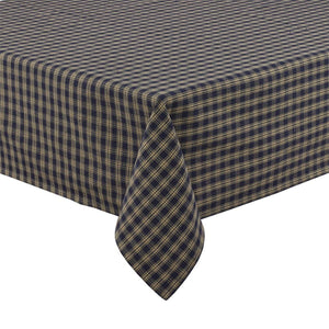 Sturbridge Navy Table Cloth 60x84""