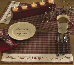 Sturbridge Wine Live Placemat - Set of 4