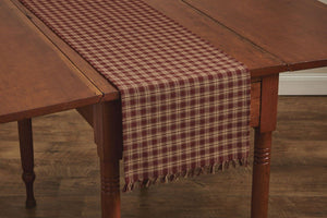 Sturbridge Wine Table Runner 36""