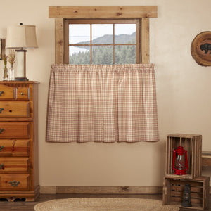 Tacoma Lined Tier Curtains 36""