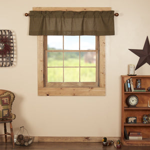 Tea Cabin Lined Valance 60""