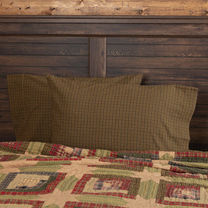 Tea Cabin Standard Pillow Case - Set of 2
