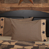 Teton Star Standard Pillow Case - Set of 2 - Primitive Star Quilt Shop