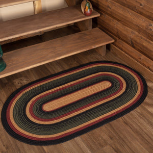 Wyatt Oval Braided Rug 27x48""
