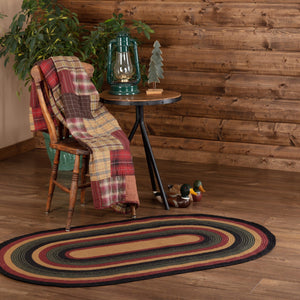 Wyatt Oval Braided Rug 36x60""